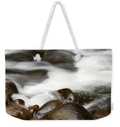 Stream Flowing Over Rocks Weekender Tote Bag