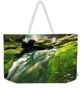 Stream Through The Moss Weekender Tote Bag