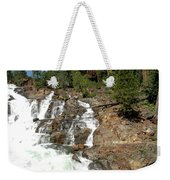 Streaming Glen Alpine Falls Weekender Tote Bag