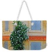 Street Corner In Provence Weekender Tote Bag