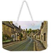 Street In Castle Combe Weekender Tote Bag