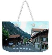 Street In Interlaken In Switzerland Weekender Tote Bag