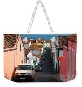 Street In Lagoa - Azores Weekender Tote Bag