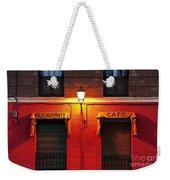 Street Lamp Cafe Weekender Tote Bag