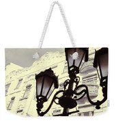 Street Lamps Of Budapest Hungary Weekender Tote Bag