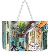 Street Life In Nicosia Weekender Tote Bag
