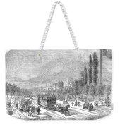 Street Railway, 1853 Weekender Tote Bag