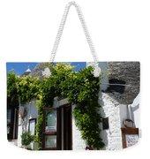 Street Scene In Alberobello Weekender Tote Bag