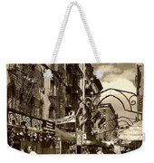 Streets Of Little Italy Weekender Tote Bag