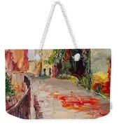 Streets Of Old Cannes Weekender Tote Bag