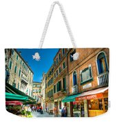 Streets Of Venice Weekender Tote Bag