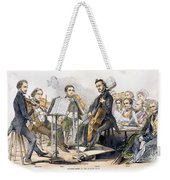 String Quartet, 1846 Weekender Tote Bag
