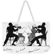String Quartet, C1935 Weekender Tote Bag