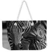 Stripes - Zebra Weekender Tote Bag
