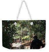 Stroll In The Shadows Weekender Tote Bag