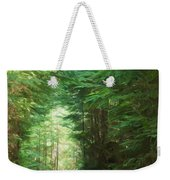 Stroll Through The Quinault Rain Forest Weekender Tote Bag