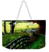 Strolling Down The Old Country Road Weekender Tote Bag