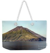 Stromboli Volcano, Aeolian Islands Weekender Tote Bag by Richard Roscoe