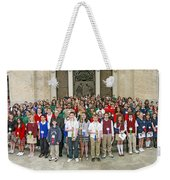 Students Catholic Schools 2007 Weekender Tote Bag