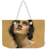 Study Of A Head Weekender Tote Bag by Evelyn De Morgan