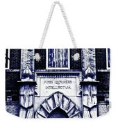 Study Of One Of The Oldest Catholic Churches In New Orleans Weekender Tote Bag