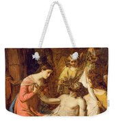 Study Of The Lamentation On The Dead Christ Weekender Tote Bag