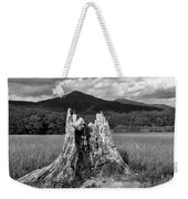 Stump In A Field Weekender Tote Bag