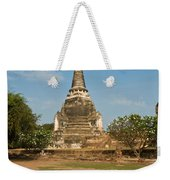 Stupa Chedi Of A Wat In Thailand Weekender Tote Bag