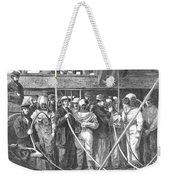 Submarine Divers, 1869 Weekender Tote Bag