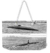 Submarine Launch, 1890 Weekender Tote Bag