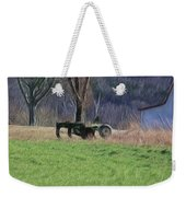 Subsoiler On The Farm  Weekender Tote Bag