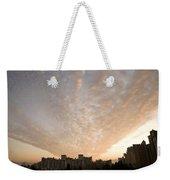 Suburban Sunrise Weekender Tote Bag