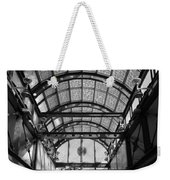 Subway Glass Station In Black And White Weekender Tote Bag