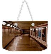 Subway Tunnel Weekender Tote Bag