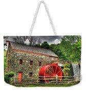 Sudbury - Storm Looms At The Grist Mill Weekender Tote Bag