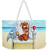 Sudoku At The Beach Weekender Tote Bag