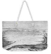 Suez Canal: Lake, 1869 Weekender Tote Bag