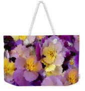 Sugared Pansies Weekender Tote Bag