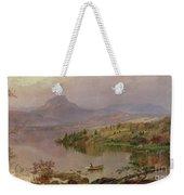 Sugarloaf From Wickham Lake Weekender Tote Bag by Jasper Francis Cropsey