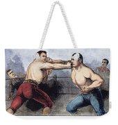 Sullivan & Kilrain Fight Weekender Tote Bag