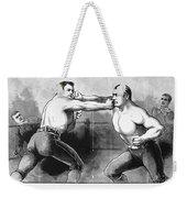 Sullivan Vs. Kilrain, 1889 Weekender Tote Bag