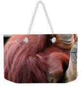 Sumatran Orangutan Weekender Tote Bag