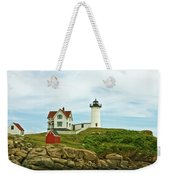 Summer Afternoon At Nubble Light Weekender Tote Bag