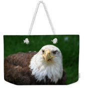 Summer Bald Eagle  Weekender Tote Bag