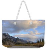 Summer Clouds Over Colin Mountain Weekender Tote Bag