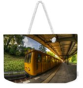 Summer Eveing Train. Weekender Tote Bag