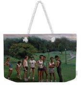 Summer Evening Meet Weekender Tote Bag