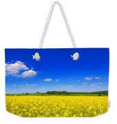 Summer Field Weekender Tote Bag by Amanda Elwell