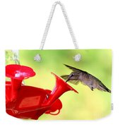 Summer Fun Hummingbird Weekender Tote Bag