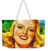 Summer Girl Weekender Tote Bag by Mo T